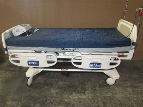 stryker bed 2030 epic ii beds electric auction