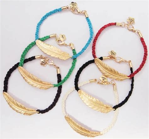 Handmade Accessories - fashion jewelry handmade accessories feather string