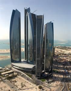 future building designs etihad towers will become abu dhabi s landmark