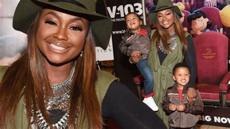 phaedra parks siblings phaedra parks and her sons ayden and dylan have date at