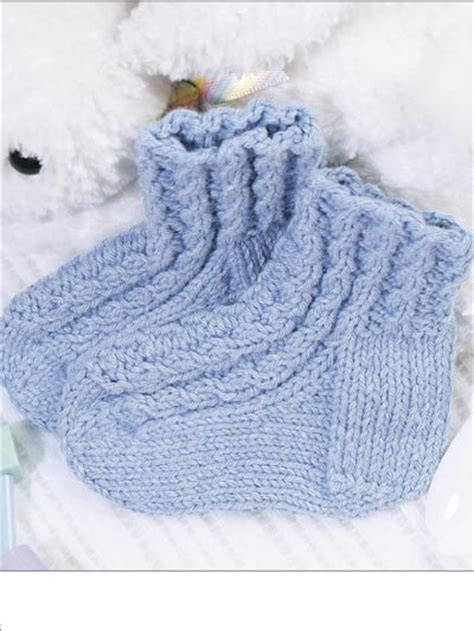 knitting pattern infant socks baby knit socks pattern