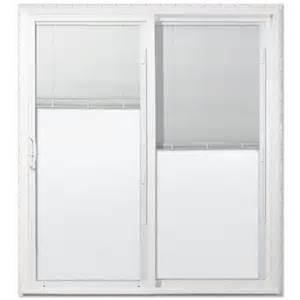 jeld wen low e vinyl sliding patio door lowe s canada