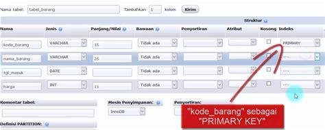 cara membuat database mysql xp cara mudah membuat database mysql di xampp menggunakan