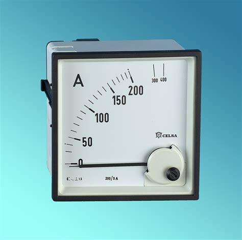 Panel Meter Eq96n 96x96 Analog Panel Meter 90 176 Ac Takowa Oy
