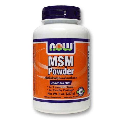 Detox Recipes Evitamins by Now Foods Msm Powder 8 Oz Evitamins
