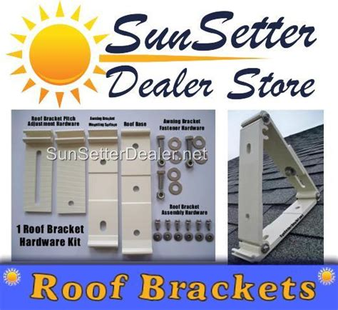 Sunsetter Awning Roof Mount Brackets by Sunsetter Awning Roof Mounting Brackets