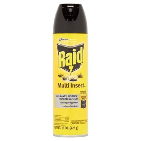 can raid kill bed bugs raid multi insect killer 7 15oz walmart com
