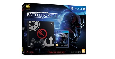wars battlefront 2 console two limited edition wars battlefront ii ps4 consoles