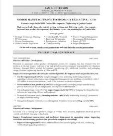 Resume Other Accomplishments Chief Technology Officer Free Resume Sles Blue Sky Resumes