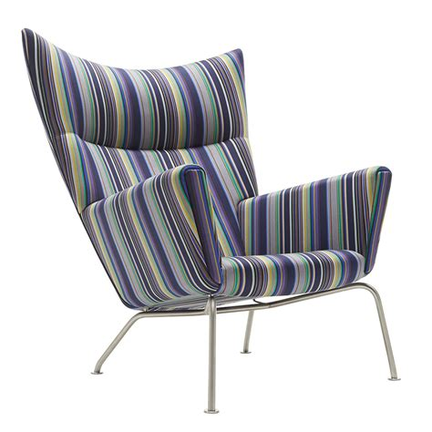 ch445 wing chair paul smith limited edition carl hansen