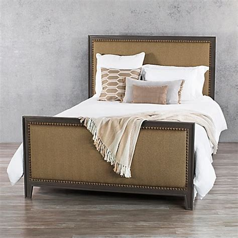 Wesley Allen Bed Frames Wesley Allen Avery Iron Complete Bed Frame In Aged Steel Bed Bath Beyond