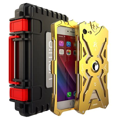 Armor Bumper Element Solace Cover Casing Iphone 6 6s simon aluminum bumper metal armor shockproof cover fr iphone 8 x 5 6 7 plus ebay