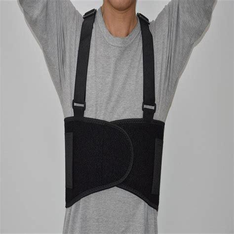 comfortable suspender belt 2016 waist support posture suspender industrial back