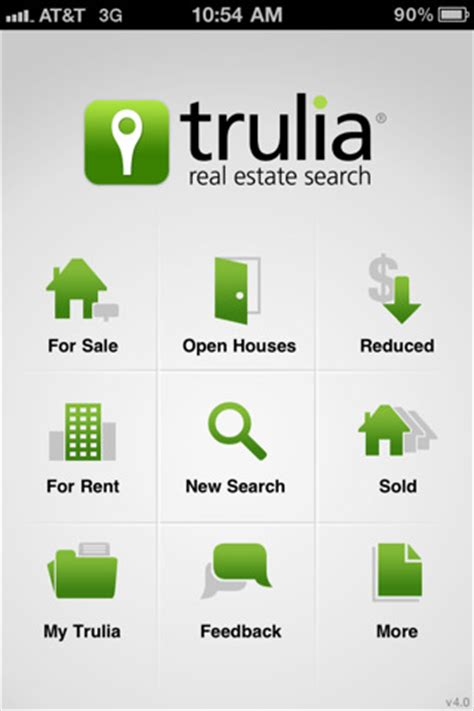 trulia open houses top 10 real estate apps for iphone enfew