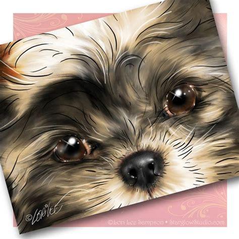 shih tzu paintings shih tzu puppy cards shih tzu shih tzu