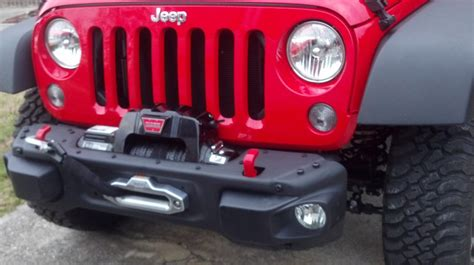 jeep rubicon winch bumper 2016 rock winch mount jeep wrangler forum
