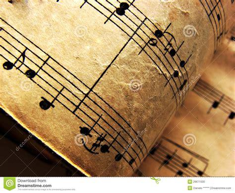 imagenes musicales retro notas musicales del vintage foto de archivo imagen 29671500