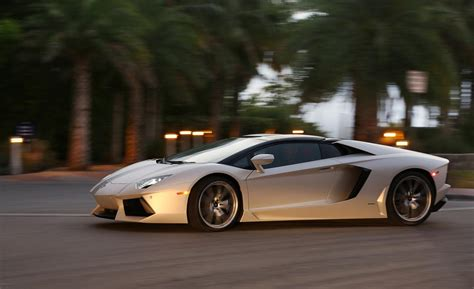 2013 Lamborghini Aventador Coupe Car And Driver