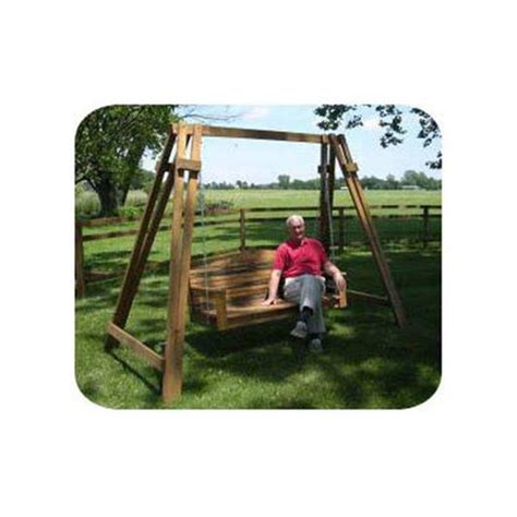 swing mission woodworking project paper plan to build mission a frame
