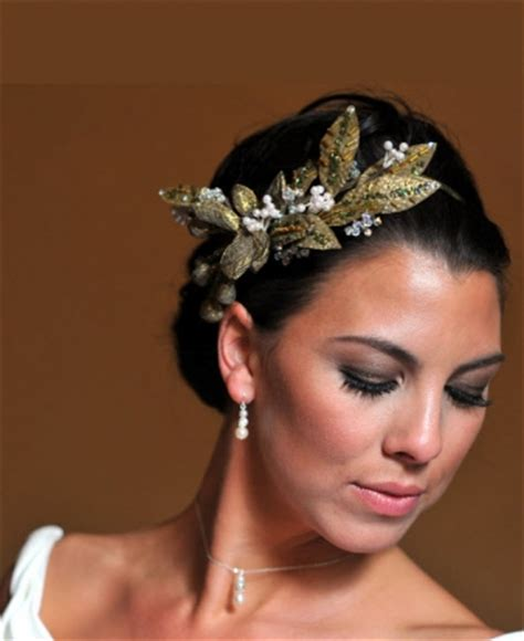 Wedding Hairstyles Goddess by Grecian Goddess Onewed
