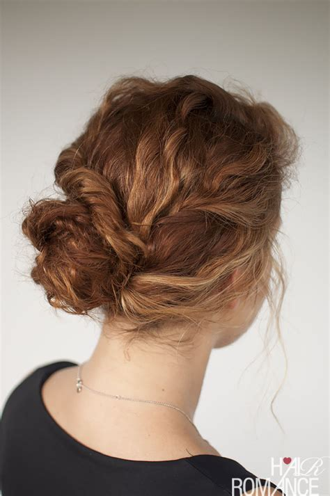 curly hairstyle tutorial the twist ponytail hair curly hair tutorial easy twisted bun hairstyle hair