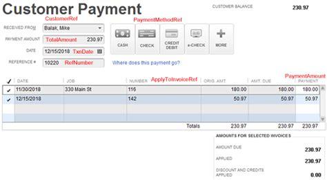 quickbooks tutorial receiving payments importing receive payments into quickbooks zed systems