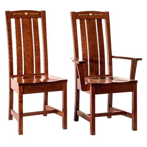 dining room chairs made in usa made in america dining chairs amish solid wood heirloom