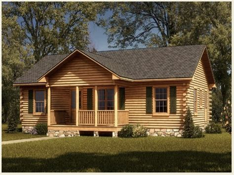 Cabin Houseplans by Simple Log Cabin House Plans Small Rustic Log Cabins