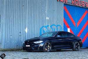 Azurite Black BMW M4 Azurite Black Photoshoot tuning
