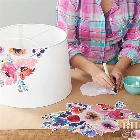 Decoupage Lshade With Fabric - best 20 decoupage ideas on