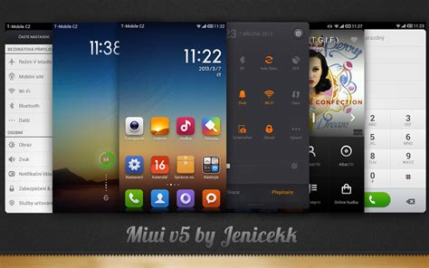 theme miui v5 anime miui v5 theme by jenicekk on deviantart