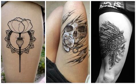 tatuajes en la pierna para mujer y hombre ideas ejemplos