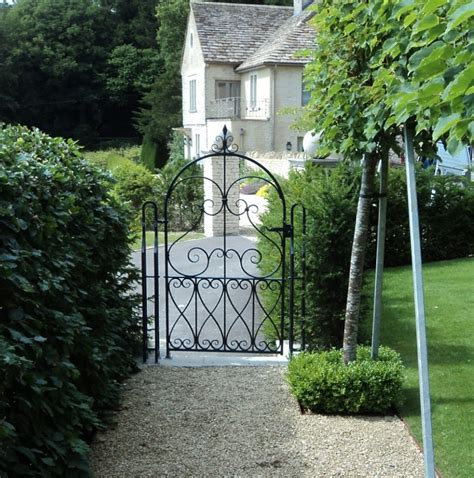 Iron Garden Gates by Wrought Iron Garden Gate Ironart Of Bath