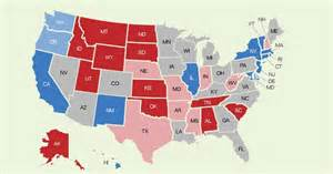 Red And Blue States Map by Red Blue Map Featured Jpg Pictures To Pin On Pinterest