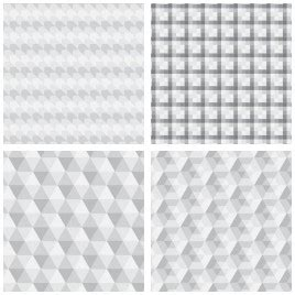 geometric pattern cdr seamless geometric white pattern vectors stock for free