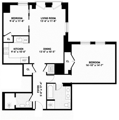 manhattan plaza apartments floor plans the plaza residences 1 central park south midtown east