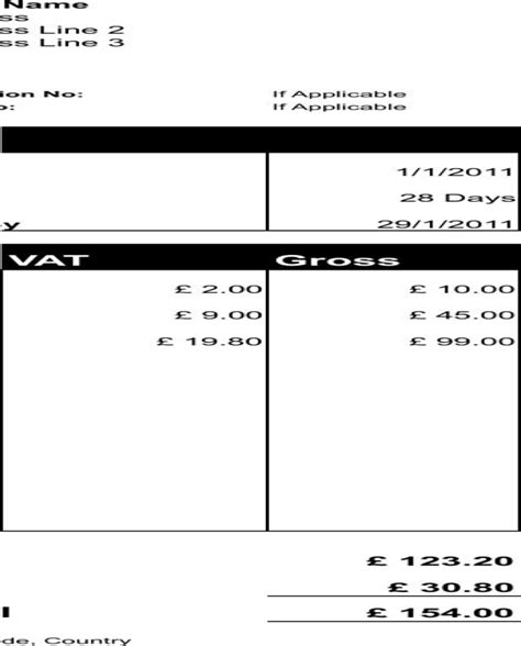 download freelance invoice template for limited company