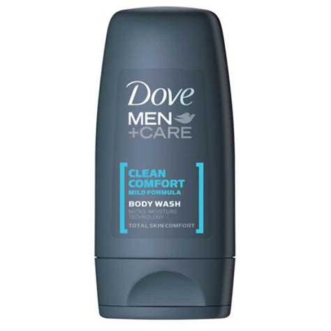 dove clean comfort dove men clean comfort body wash 55ml individual health