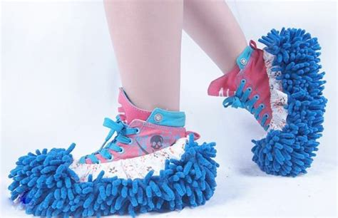 mop slippers 1 pair mop slippers floor polishing dusting house cleaning