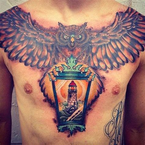 lower chest tattoos 50 best and awesome chest tattoos for