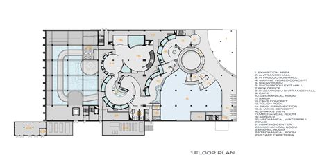 Laboratory Floor Plan gallery of antalya aquarium bahadir kul architects 20