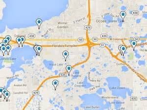 map winter garden florida winter garden real estate search all winter garden homes
