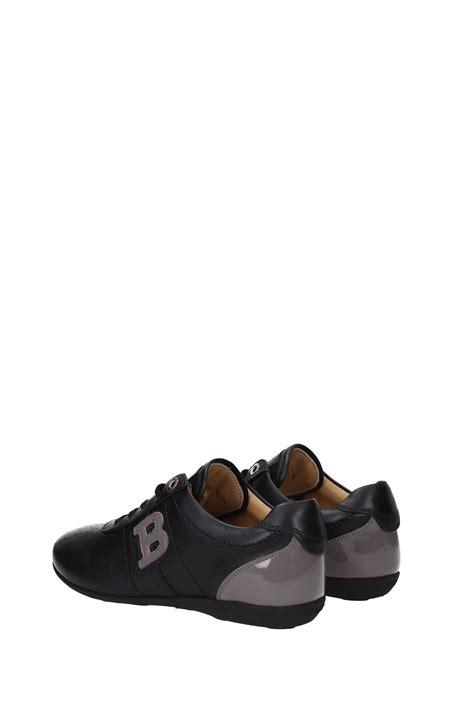 bally sneakers womens sneakers bally leather black heike00620274 ebay