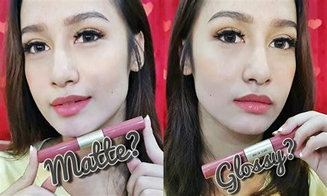 Lipstik Sariayu Duo Lip Color review impression duo lip color sariayu martha tilaar naomiviow