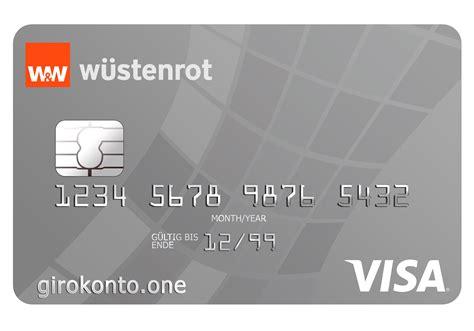 wã stenrot bank w 252 stenrot girokonto mit visa kreditkarte girokonto one