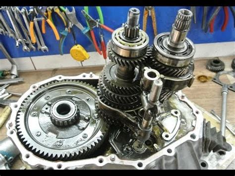 how to disassemble a manual transmission youtube
