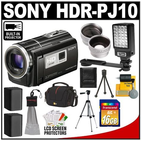 Handycam Sony Projector Pj10 sony camcorder wide angle lens for sale review buy at