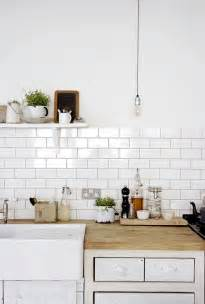 White Backsplash Tile For Kitchen by Kitchen Subway Tiles Are Back In Style 50 Inspiring Designs