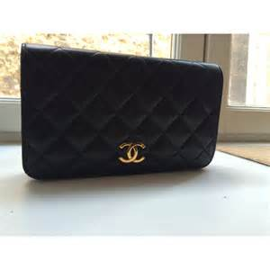 Model Home Interior Designers Chanel Evening Clutch Bag Black Leather Ref A96982