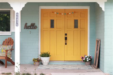 blue house yellow door az shade garden tips